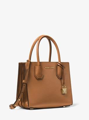 MICHAEL Michael Kors Mercer Medium Pebbled Leather Accordion Crossbody Bag