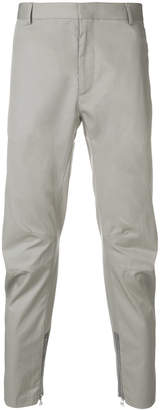 Lanvin zipped cuff chinos