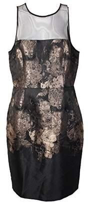 Betsey Johnson Women's Sleeveless Jacquard Dress
