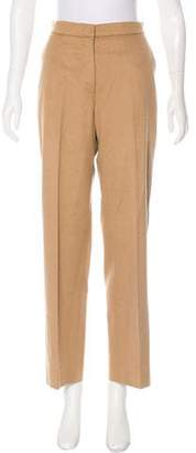 Max Mara Mid-Rise Camel Pants