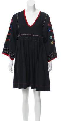 Ulla Johnson Embroidered Mini Dress w/ Tags