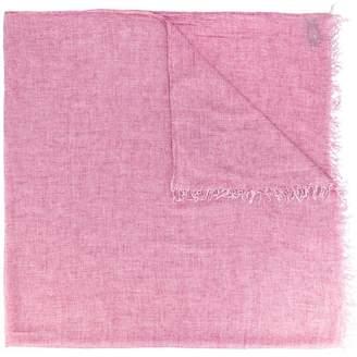 Dondup frayed scarf