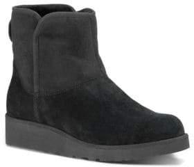 UGG Kristin Slim Short Sheepskin Wedge Boots