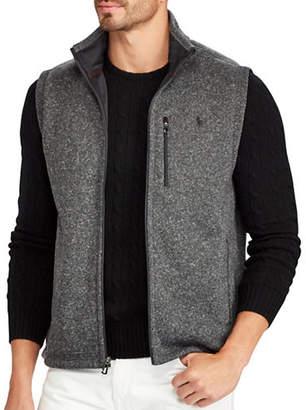 Polo Ralph Lauren Big and Tall Fleece Mockneck Vest