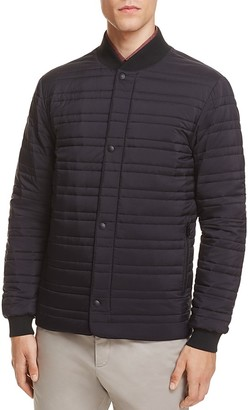 Z Zegna Nylon Quilted Short Jacket $695 thestylecure.com