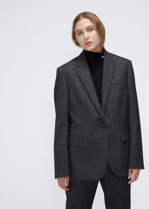 Calvin Klein Wool Check Blazer