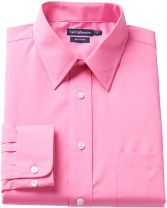 Croft & Barrow Men's Regular-Fit Easy-Care Point-Collar Dress Shirt