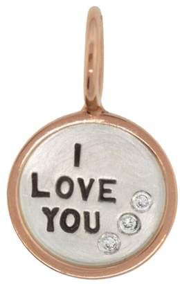Heather B Moore I Love You Charm - Sterling Silver