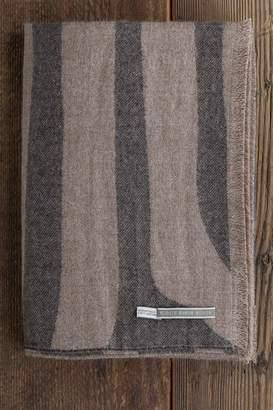 Alicia Adams Alpaca Inc. Zebra Print Throw