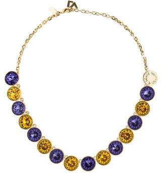 Louis Vuitton Crystal Over the Rainbow Collar Necklace