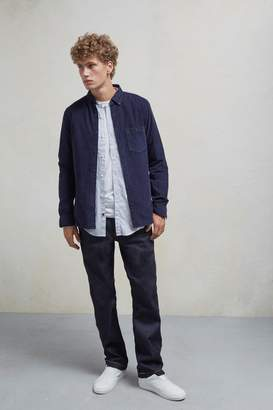 French Connection 28 Wales Long Sleeved Corduroy Shirt