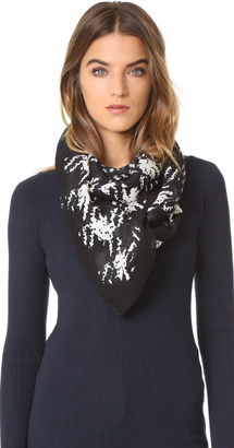 McQ - Alexander McQueen Gingham Scarf $195 thestylecure.com