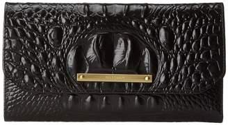 Brahmin Melbourne Soft Checkbook Wallet Wallet Handbags