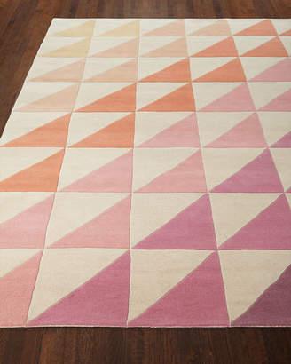 "Fun Tiles Hand-Tufted Runner, 2'3"" x 8'"