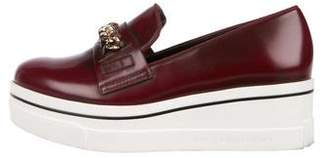 Stella McCartney Vegan Leather Platform Loafers