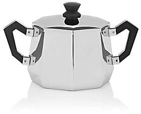 Alessi Ottagonale Sugar Bowl-Stainless Steel
