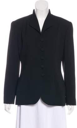 Christian Dior Structured Button-Up Blazer