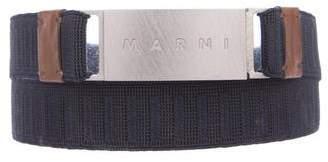 Marni Logo Waist Belt