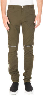 Givenchy Zip-Trim Biker Trouser Pants