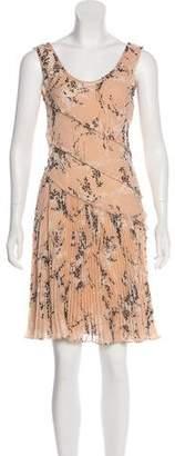 Jason Wu Printed Pleated Dress