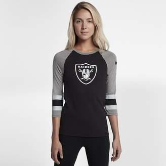 Nike Raglan (NFL Raiders) Women's T-Shirt
