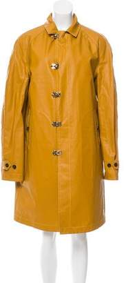 Burberry Knee-Length Rain Coat