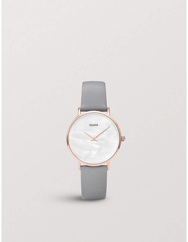 CL30049 rose gold-plated watch