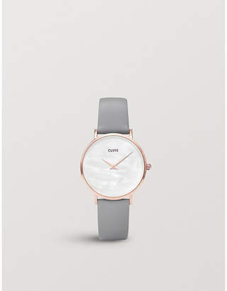 Cluse CL30049 rose gold-plated watch