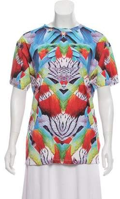 Marcelo Burlon County of Milan Printed Short Sleeve Top