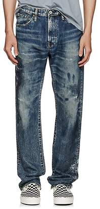 Edwin Men's Distressed Straight Jeans