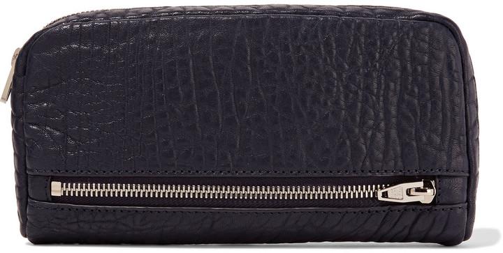 Alexander WangAlexander Wang Fumo textured-leather continental wallet