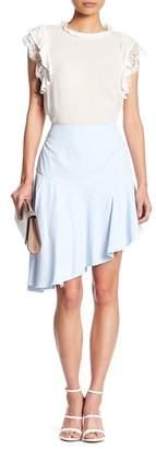 Romeo & Juliet Couture Asymmetrical Ruffle Hem Skirt