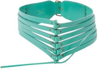 Alaia Leather belt