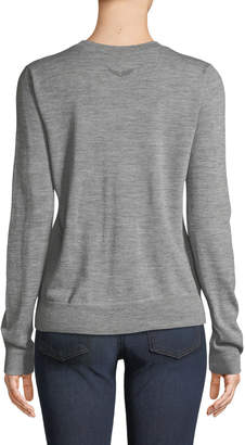 Zadig & Voltaire Miss Merino Wool Pullover Sweater
