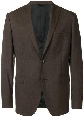 Tonello micro pattern single-breasted blazer