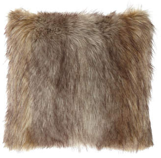 Dian Austin Couture Home Carte Le Blanche Wolf Faux-Fur Boutique Pillow