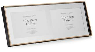 Debenhams Black Three Picture Wooden Photo Frame