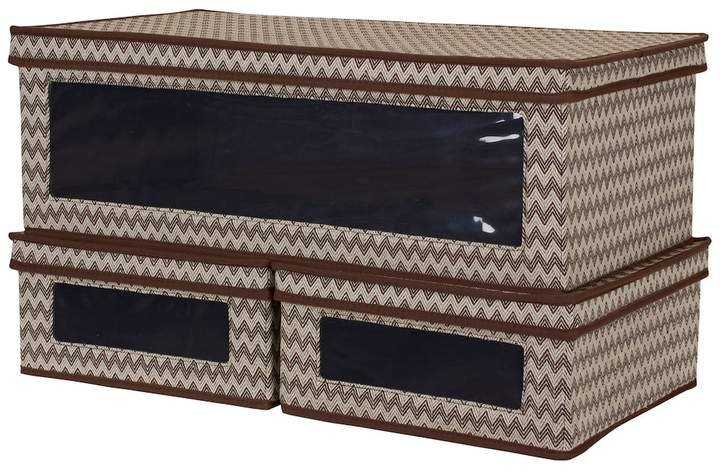 3-piece Chevron Vision Storage Box Set