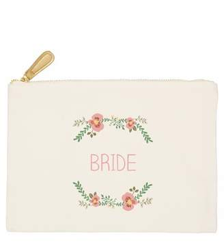 Cathy's Concepts Bridesmaid Canvas Pouch