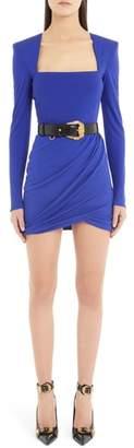 Versace First Line Square Neck Minidress