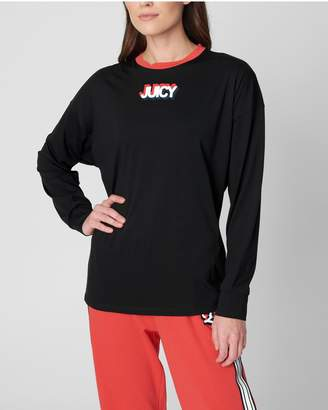 Juicy Couture JXJC Reflective Graphic Long Sleeve Tee