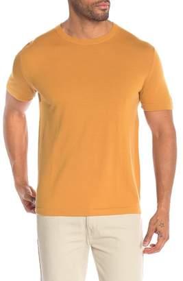 Theory Veloy Short Sleeve Wool Tee