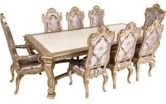 Medici 9-Piece Phyllis Morris De Dining Set