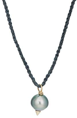 Feathered Soul Men's #Tahitian5 Pendant Necklace
