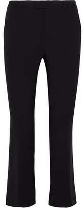 RED Valentino Cropped Wool-Blend Canvas Bootcut Pants
