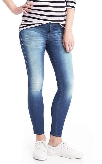 GapSTRETCH 1969 inset panel easy legging jeans