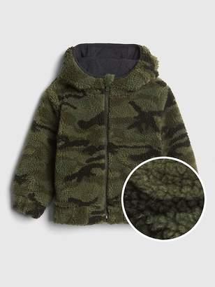 Boys Sherpa Jacket Shopstyle