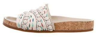 Chloé Patterned Slide Sandals