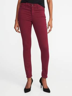 Old Navy Mid-Rise Pop-Color Rockstar Super Skinny Jeans for Women