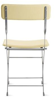 Design Within Reach Lina Leather Folding Chair